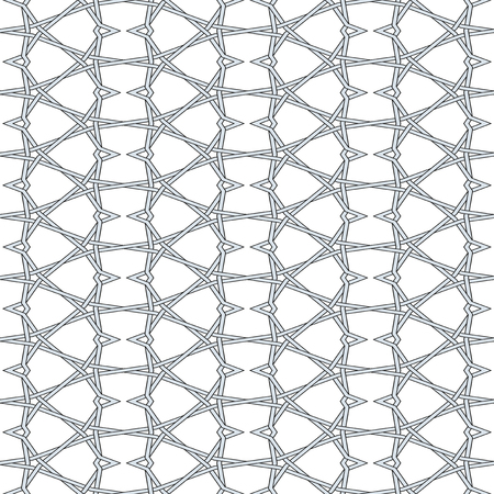 Knitted Wire Seamless Pattern Background