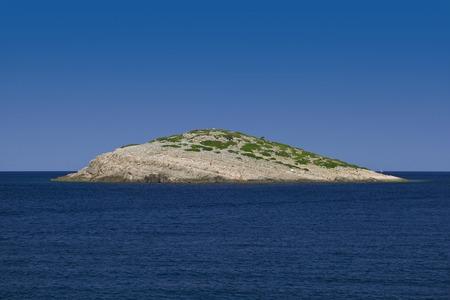 Isolated Rocky Island Kornati Archipelago Croatia