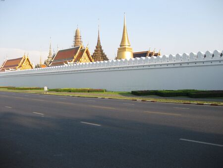 blissfull: Thr Grand Palace Bangkok on a Blissfull summers day