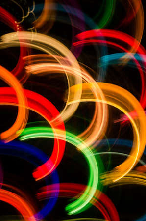 Colorful Tree Light Abstract photo