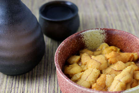sea urchin with Sake Bowl