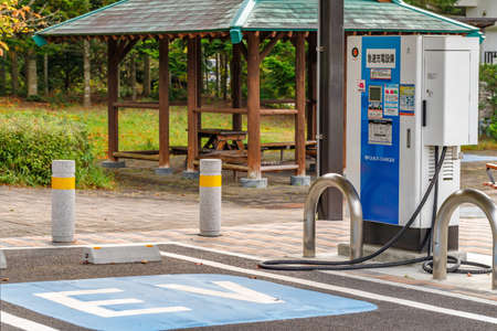 EV rapid charging stand