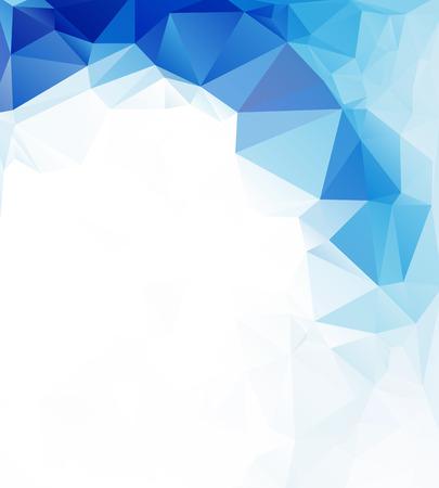 poligonos: Fondo de mosaico poligonal, ilustraci�n vectorial, dise�o de plantillas de negocios
