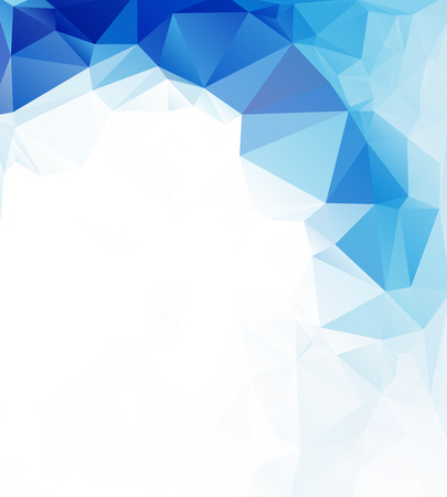 cool background: polygonal mosaic background, Vector illustration,  Business design templates
