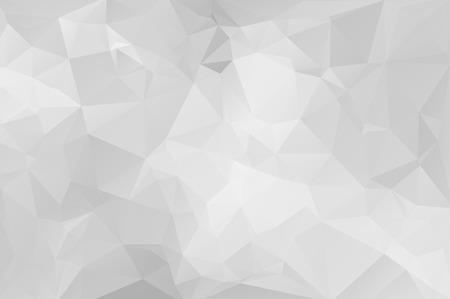 Gray Light Polygonal Mosaic Background, Vector illustration,  Business Design Templates Vector