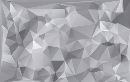 Gray White Light Polygonal Mosaic Background, Vector illustration,  Business Design Templates Иллюстрация