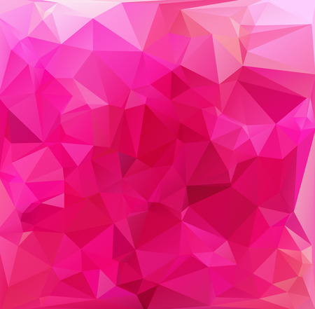 Pink Light Polygonal Mosaic Background, Vector illustration,  Business Design Templates Vector