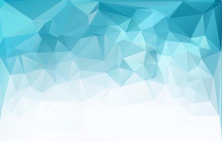 Blue Light Polygonal Mosaic Background, Vector illustration,  Business Design Templates Vettoriali