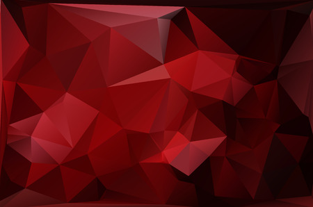 christmas fire: Red Polygonal Mosaic Background, Vector illustration,  Creative  Business Design Templates
