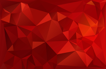 mosaic: Red White Polygonal Mosaic Background, Vector illustration,  Creative  Business Design Templates