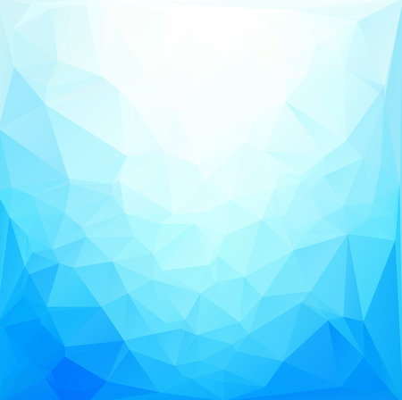 Blue White  Polygonal Mosaic Background, Vector illustration,  Creative  Business Design Templates Illusztráció