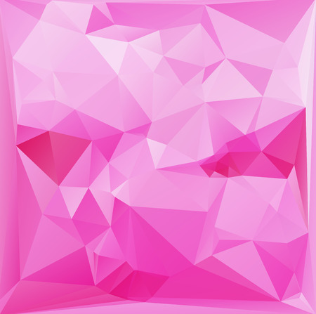 unusual valentine: Pink White  Polygonal Mosaic Background, Vector illustration,  Creative  Business Design Templates Illustration