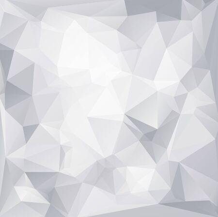 Gray White  Polygonal Mosaic Background, Vector illustration,  Creative  Business Design Templates Vector
