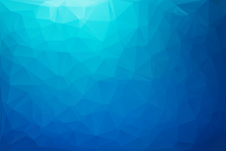 Blue White  Polygonal Mosaic Background, Vector illustration,  Creative  Business Design Templates Stock Illustratie