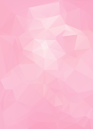 Pink White  Polygonal Mosaic Background, Vector illustration,  Creative  Business Design Templates Иллюстрация