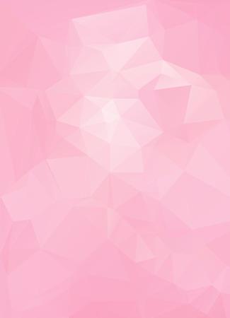 Pink White  Polygonal Mosaic Background, Vector illustration,  Creative  Business Design Templates Illustration