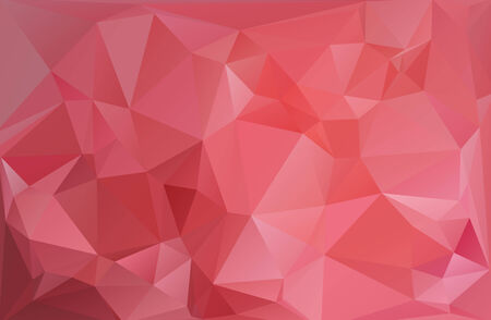 Red White Polygonal Mosaic Background, Vector illustration,  Creative  Business Design Templates Vector