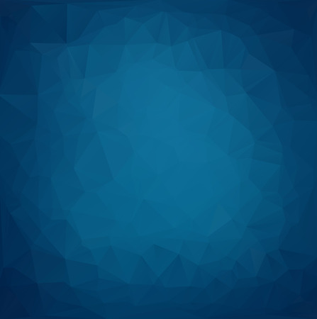 poster background: Blue Light poligonale mosaico sfondo, illustrazione vettoriale, Creative Business Design