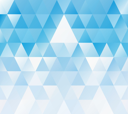 Blue White Mosaic Background, Creative Design Templates Vector