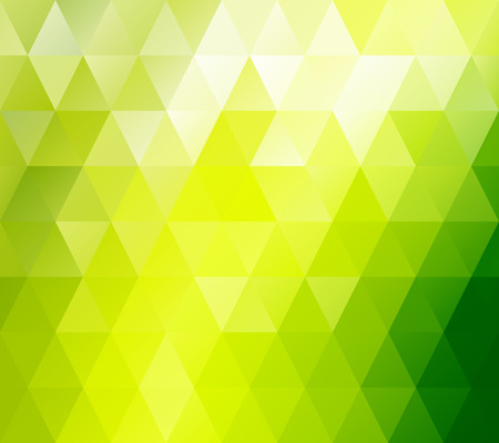Green Grid  Mosaic Background, Creative Design Templates Vector