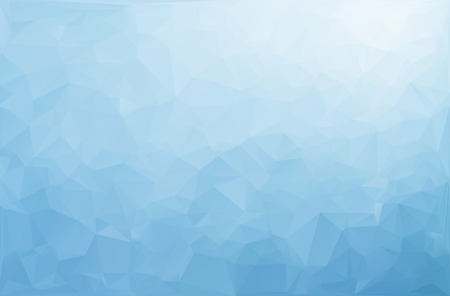 Blue White Polygonal Mosaic Background, Vector illustration,  Creative  Business Design Templates Stok Fotoğraf - 40258574