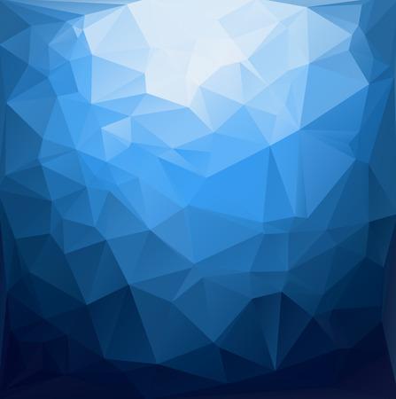 blue: Blue Polygonal Mosaic Background, Creative Design Templates