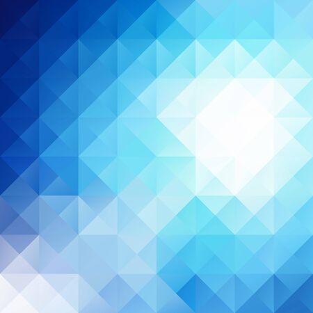 blau wei�: Blau Wei� Hell Mosaik Hintergrund, Kreativ-Design-Vorlagen