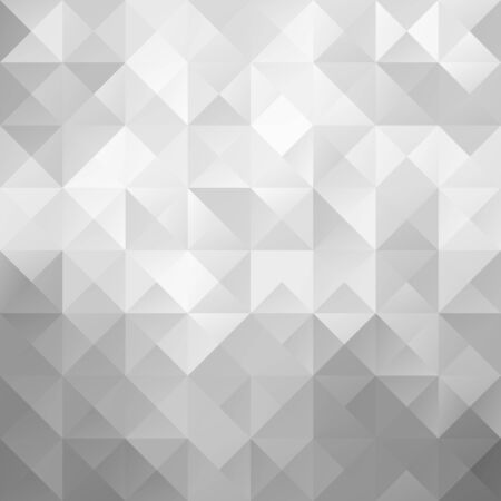 Gray Bright Mosaic Background, Creative Design Templates Vector