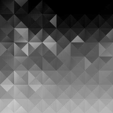 black block: Fondo del mosaico del Bloque Negro, plantillas de dise�o creativo Vectores