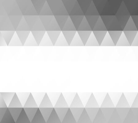 Gray Grid Mosaic Background, Creative Design Templates Vector