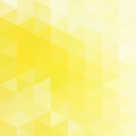 Yellow Grid Mosaic Background, Creative Design Templates Vector