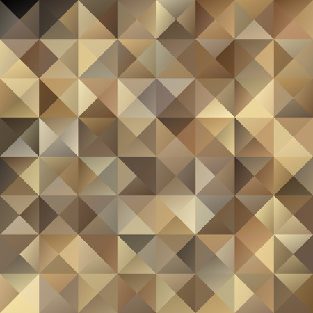 Brown Grid Mosaic Background, Creative Design Templates Vector