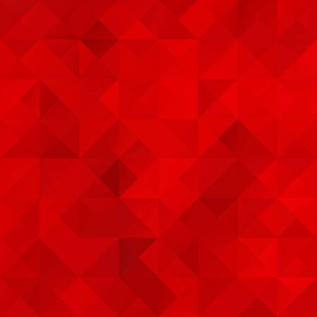 Red Grid Mosaic Background, Creative Design Templates Vector