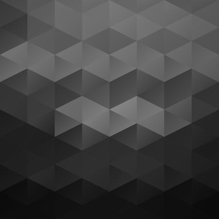 poligonos: Antecedentes del mosaico rejilla gris, plantillas de dise�o creativo