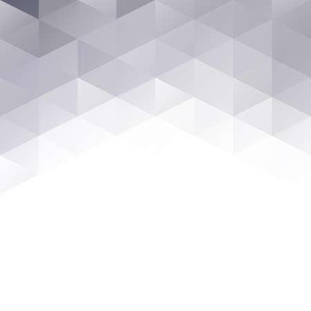 Gray Grid Mosaic Background, Creative Design Templates Vector