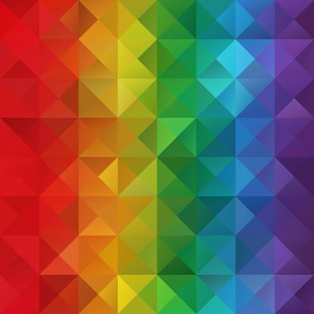 Colorful Grid Mosaic Background, Creative Design Templates Vector