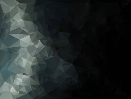 Gray White Polygonal Mosaic Background, Creative Business Design Templates