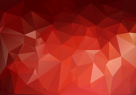 shape triangle: Red White Polygonal Mosaic Background, Vector illustration,  Creative  Business Design Templates