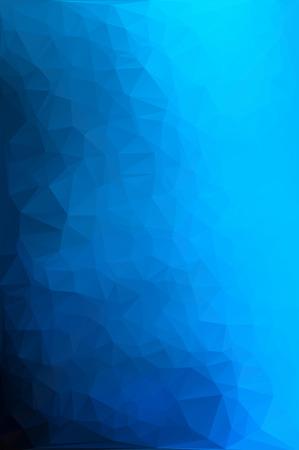 blau wei�: Blau Wei� Polygonal Mosaic Background, Creative Business-Design-Vorlagen Illustration