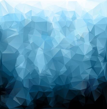 3d abstract backdrop: Blue Polygonal Mosaic Background, Creative Design Templates