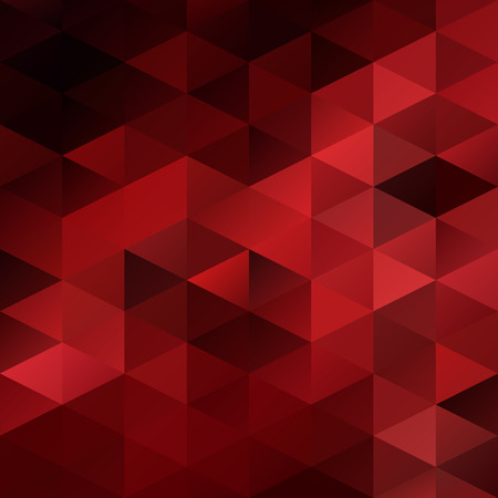 bright card: Red Grid Mosaic Background, Creative Design Templates Illustration