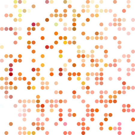 dots background: Red Random Dots Background