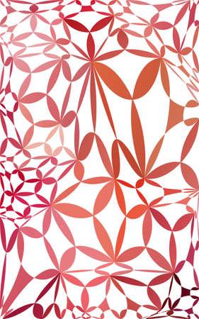 mesh: Red mesh Background Illustration