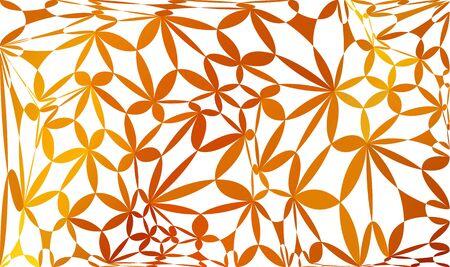 mesh: Orange mesh Background