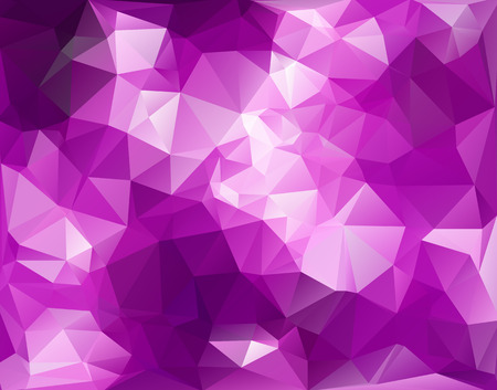 Purple Polygonal Mosaic Background