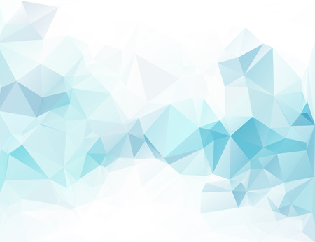 mosaic background: Blue Polygonal Mosaic Background