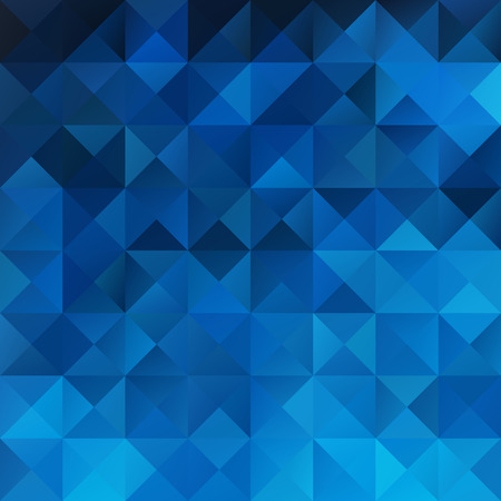 Blue Grid Mosaic , Creative Design Templates Illustration