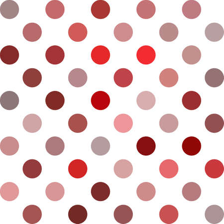 red polka dots: Rojo Lunares fondo, plantillas de diseño creativo Vectores