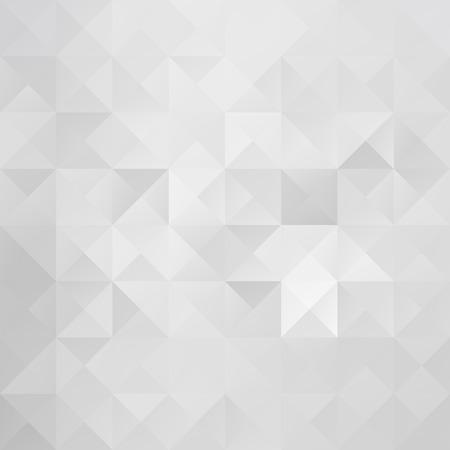 Gray White Grid Mosaic Background, Creative Design Templates