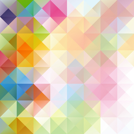 다채로운 그리드 모자이크 배경, 크리 에이 티브 디자인 템플릿